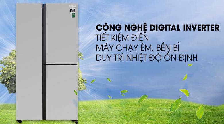 Công nghệ Inverter- Tủ lạnh Samsung Inverter 634 lít RS63R5571SL/SV
