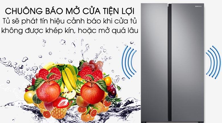 Chuông báo cửa mở - Tủ lạnh Samsung Inverter 647 lít RS62R5001M9/SV