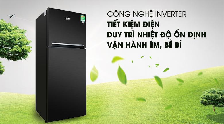 Công nghệ Inverter - Tủ lạnh Beko Inverter 188 lít RDNT200I50VWB