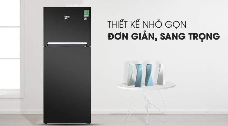 Thiết kế sang trọng- Tủ lạnh Beko Inverter 188 lít RDNT200I50VWB