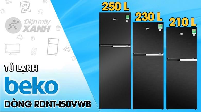 Tủ lạnh Beko Inverter 250 lít RDNT271I50VWB
