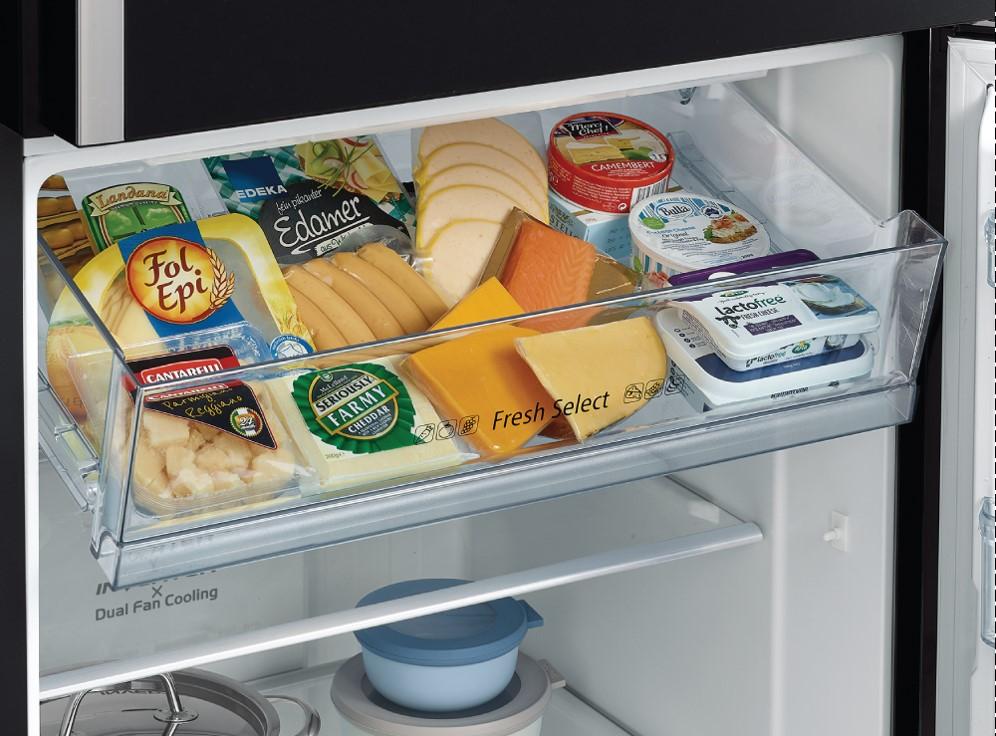 Trang bị ngăn chuyển đổi đa năng - Tủ lạnh Hitachi Inverter 406 lít R-FG510PGV8 GBK