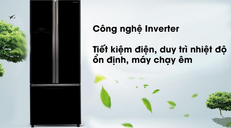 Tủ lạnh Hitachi Inverter 405 lít R-FWB475PGV2 GBK - Công nghệ Inverter siêu tiết kiệm điện
