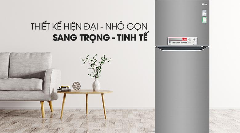Tủ lạnh LG Inverter 393 lít GN-M422PS
