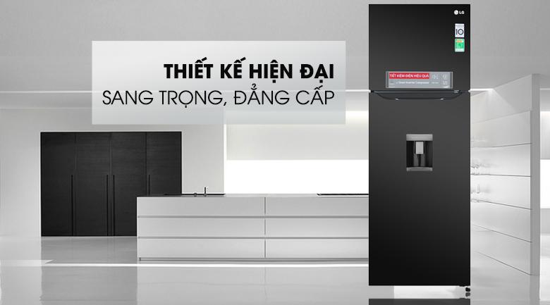 Tủ lạnh LG Inverter 315 lít GN-D315BL - Thiết kế nhỏ gọn, kiểu dáng sang trọng