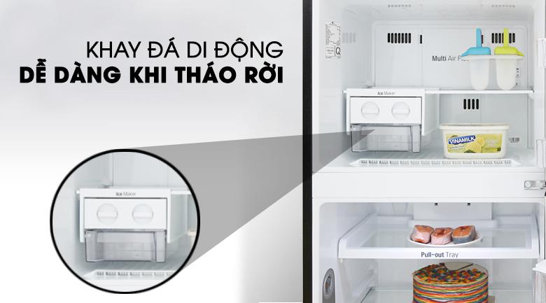 Tủ lạnh LG Inverter 315 lít GN-D315BL Mẫu 2019 - Hộp đá di động, dễ dàng tháo rời di chuyển