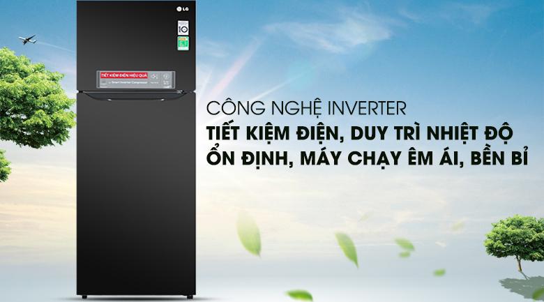 Công nghệ Inverter - Tủ lạnh LG Inverter 315 lít GN-M315BL