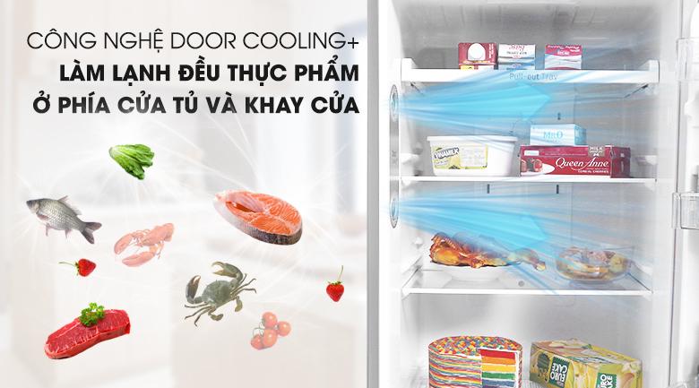 DoorCooling+ - Tủ lạnh LG Inverter 315 lít GN-M315PS