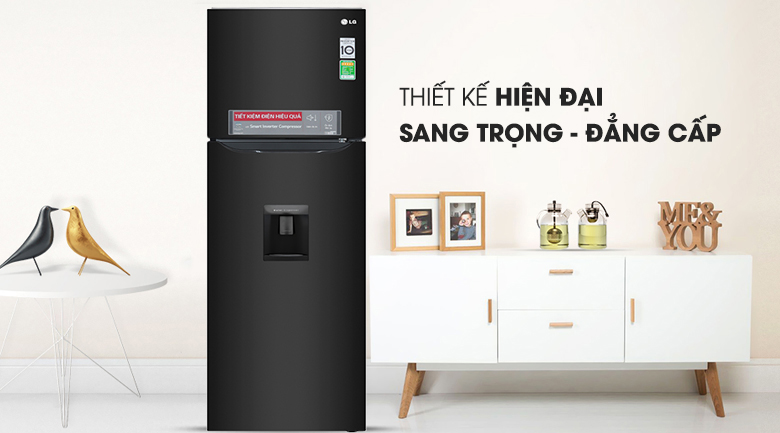 Tủ lạnh LG Inverter 255 lít GN-D255BL