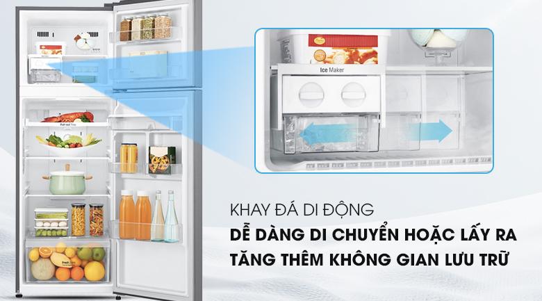 Khay đá di động - Tủ lạnh LG Inverter 255 lít GN-D255BL