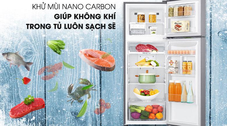 Công nghệ Nano Cacbon - Tủ lạnh LG Inverter 255 lít GN-M255PS
