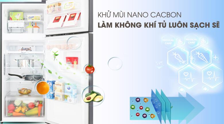 Công nghệ khử mùi Nano Cacbon - Tủ lạnh LG Inverter 208 lít GN-M208BL