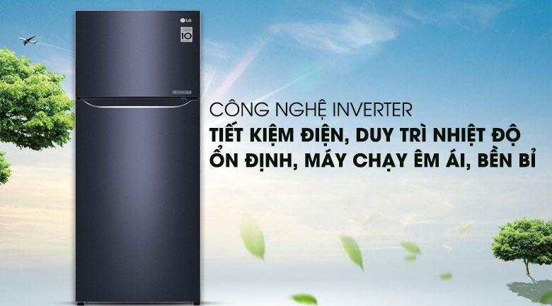 Công nghệ Inverter - Tủ lạnh LG Inverter 208 lít GN-M208BL