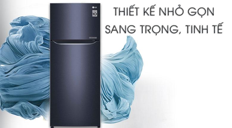 Tủ lạnh LG Inverter 208 lít GN-M208BL