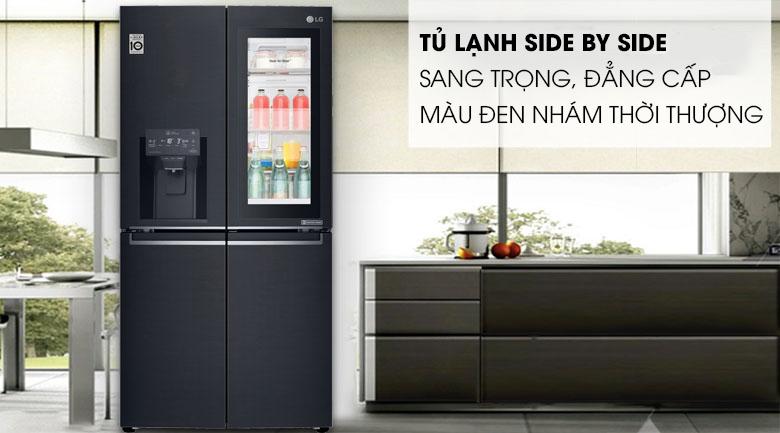 Tủ lạnh LG Inverter InstaView Door-in-Door 601 lít GR-X247MC Mẫu 2019 - Thiết kế