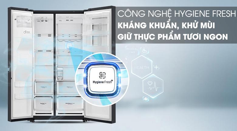 Công nghệ Hygiene Fresh - Tủ lạnh LG Inverter InstaView Door-in-Door 601 lít GR-X247MC