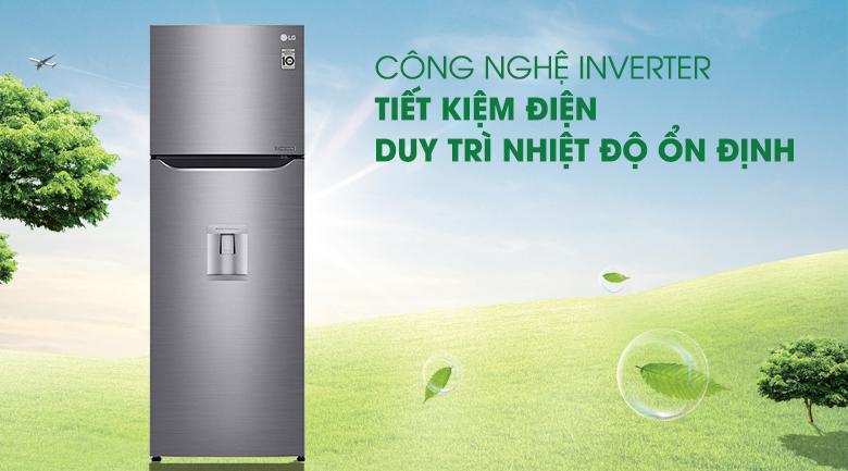 Công nghệ Inverter - Tủ lạnh LG Inverter 255 lít GN-D255PS