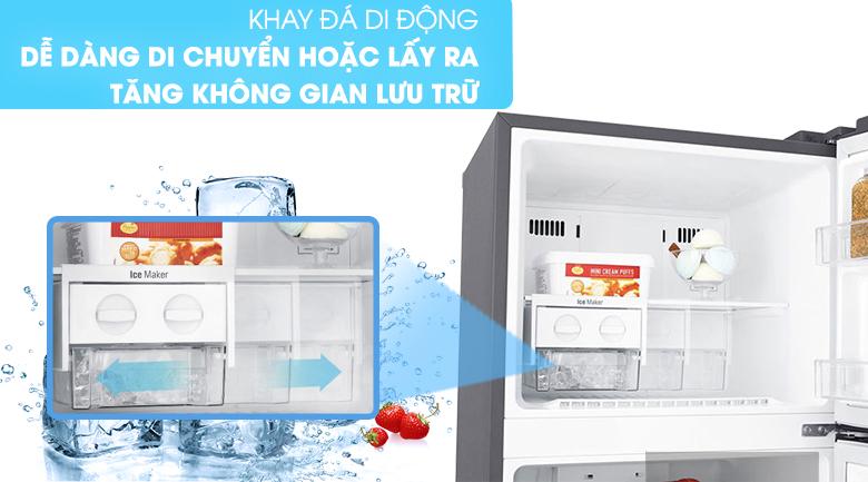Khay đá di động - Tủ lạnh LG Inverter 255 lít GN-D255PS