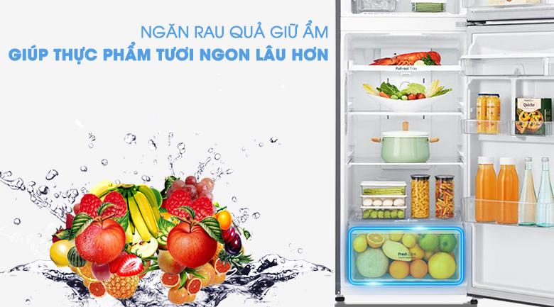 Ngăn cân bằng độ ẩm - Tủ lạnh LG Inverter 255 lít GN-D255PS