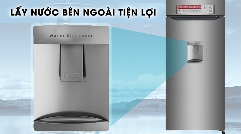 Lấy nước bên ngoài - Tủ lạnh LG Inverter 315 lít GN-D315S