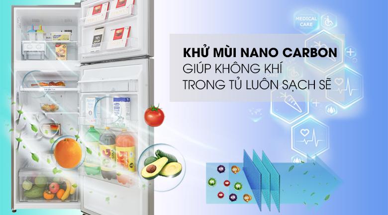 Công nghệ Nano Carbon - Tủ lạnh LG Inverter 315 lít GN-D315S