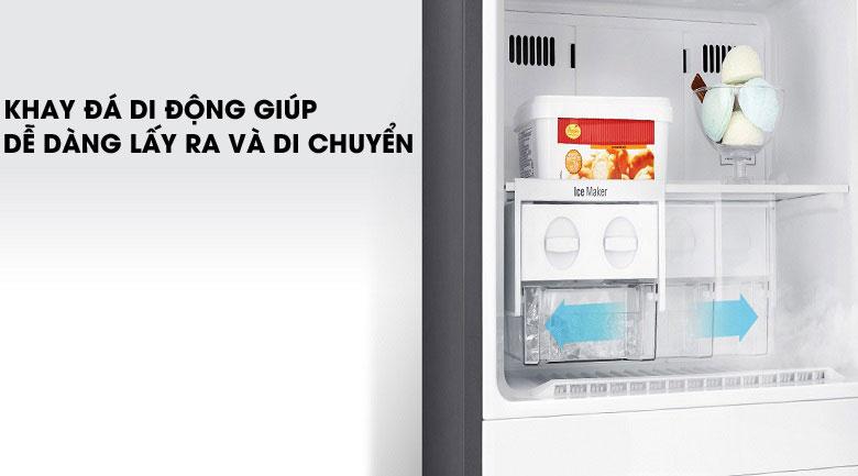 Khay đá di động - Tủ lạnh LG Inverter 315 lít GN-D315S