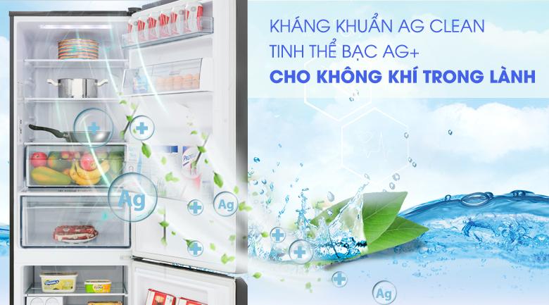 Công nghệ kháng khuẩn Ag Clean - Tủ lạnh Panasonic Inverter 322 lít NR-BC360QKVN