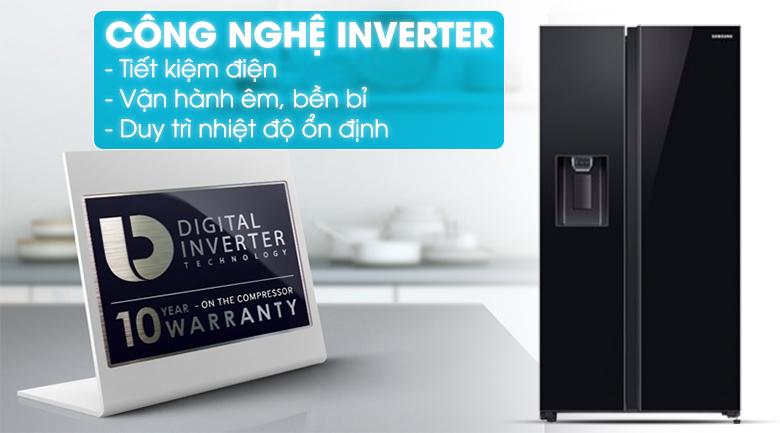 Tích hợp thêm công nghệ Digial Inverter - Tủ lạnh Samsung Inverter 617 lít RS64R53012C/SV