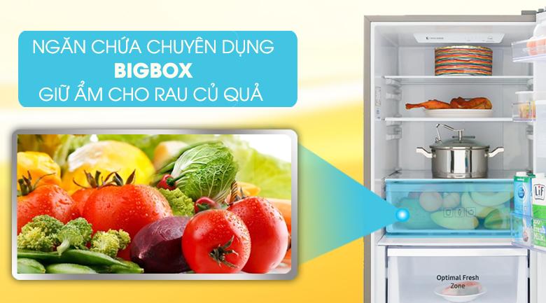 Ngăn chứa chuyên dụng giữ ẩm cho rau củ quả - Tủ lạnh Samsung Inverter 307 lít RB30N4170DX/SV