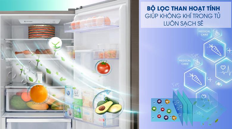 Bộ lọc than hoạt tính - Tủ lạnh Samsung Inverter 307 lít RB30N4170DX/SV