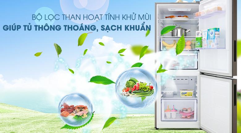 Bộ lọc than hoạt tính khử mùi hôi hiệu quả - Tủ lạnh Samsung Inverter 276 lít RB27N4010DX/SV