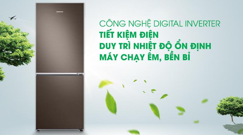 Công nghệ Digital Inverter - Tủ lạnh Samsung Inverter 276 lít RB27N4010DX/SV