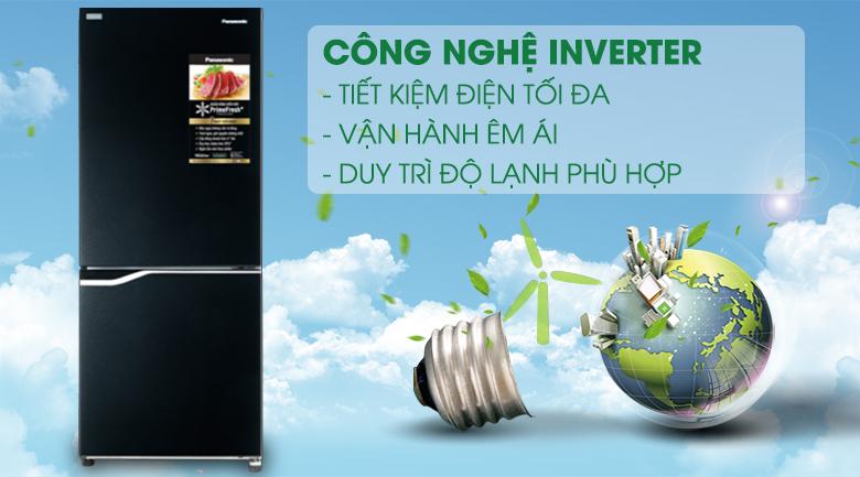 Công nghệ Inverter - Tủ lạnh Panasonic Inverter 255 lít NR-BV280GKVN