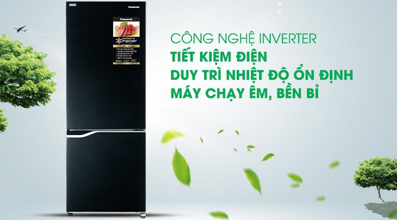 Công nghệ Inverter - Tủ lạnh Panasonic Inverter 290 lít NR-BV320GKVN