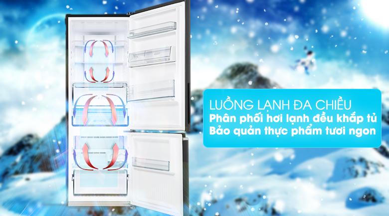 Công nghệ làm lạnh Panorama - Tủ lạnh Panasonic Inverter 290 lít NR-BV320GKVN
