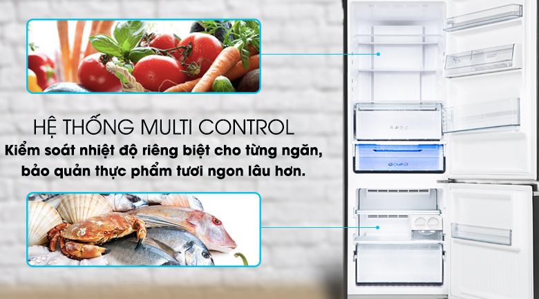 Hệ thống Multi Control - Tủ lạnh Panasonic Inverter 290 lít NR-BV320GKVN