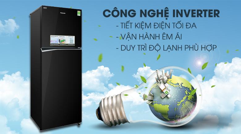 Công nghệ Inverter - Tủ lạnh Panasonic Inverter 326 lít NR-BL351GKVN