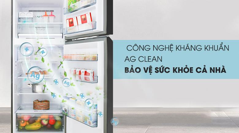 Công nghệ Ag Clean - Tủ lạnh Panasonic Inverter 366 lít NR-BL381GKVN