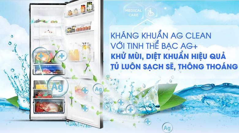 Khử mùi Ag Clean với tinh thể bạc Ag+ - Tủ lạnh Panasonic Inverter 322 lít NR-BV360GKVN