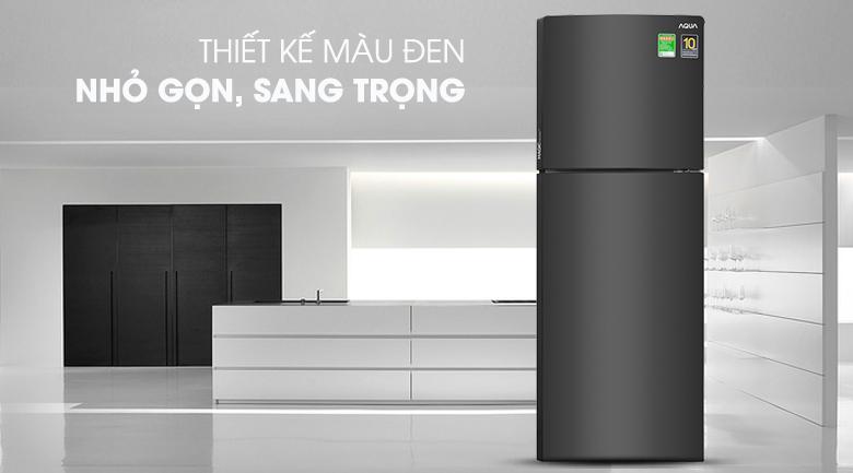 Thiết kế sang trọng, ngăn đá dưới tiện lợi - Tủ lạnh Aqua Inverter 235 lít AQR-T249MA PB