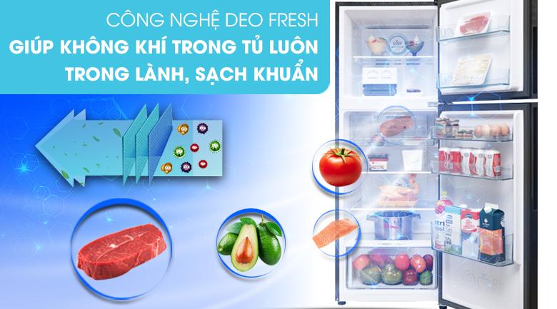 Công nghệ DEO FRESH - Tủ lạnh Aqua Inverter 235 lít AQR-T249MA SV