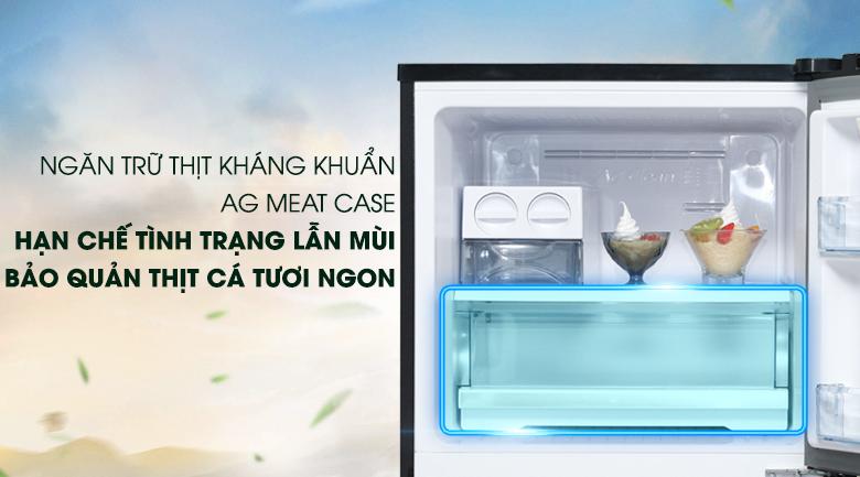 Ngăn Ag Meat Case - Tủ lạnh Panasonic Inverter 326 lít NR-BL351WKVN