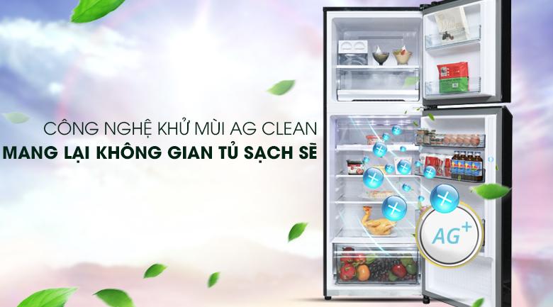 Công nghệ Ag Clean - Tủ lạnh Panasonic Inverter 366 lít NR-BL381WKVN