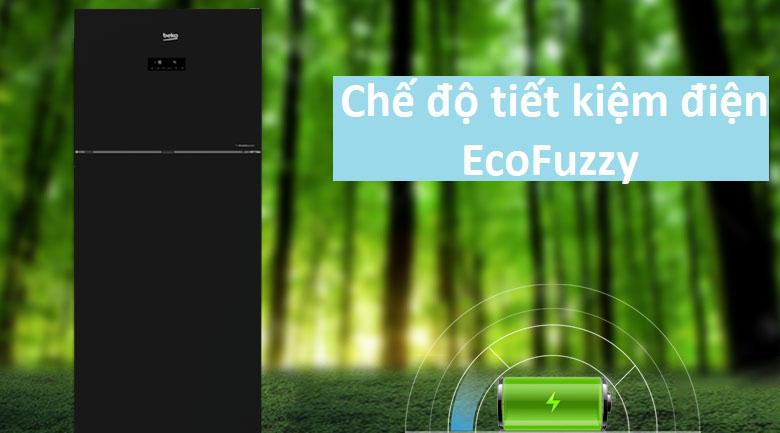 Công nghệ Eco Fuzzy - Tủ lạnh Beko Inverter 420 lít RDNT470E50VZJGB