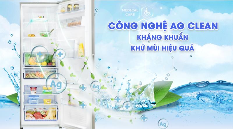 Tủ lạnh Panasonic Inverter 290 lít NR-BV320WSVN-Kháng khuẩn, khử mùi hiệu quả cùng công nghệ Ag Clean