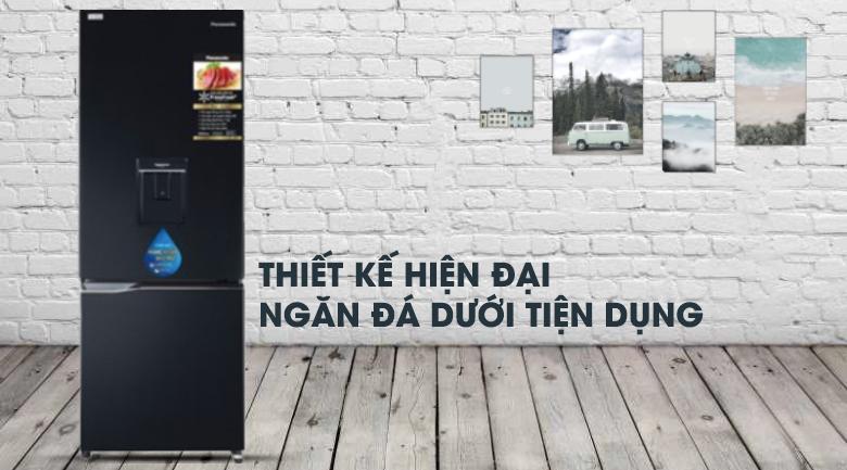 thiết kế-Tủ lạnh Panasonic Inverter 290 lít NR-BV320WKVN