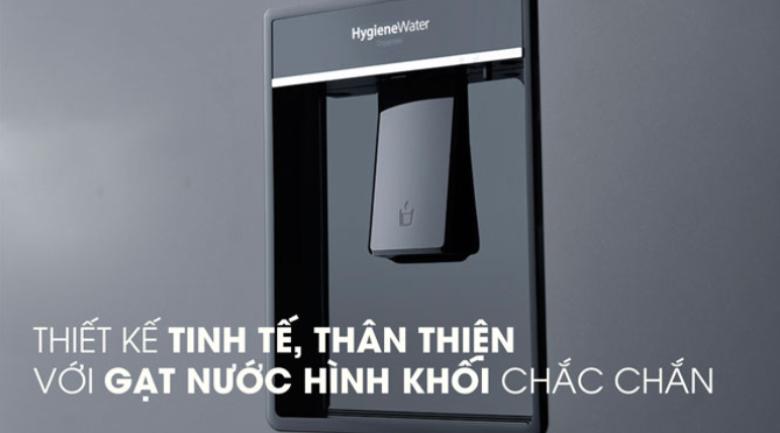 khay lấy nước ngoài-Tủ lạnh Panasonic Inverter 255 lít NR-BV280WKVN