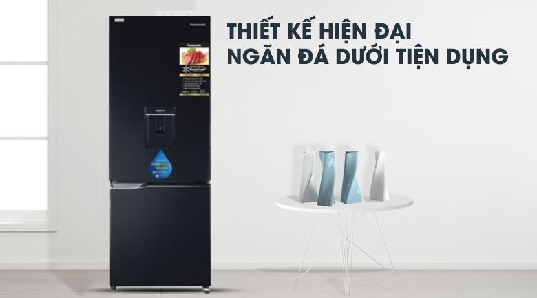 thiết kế-Tủ lạnh Panasonic Inverter 255 lít NR-BV280WKVN
