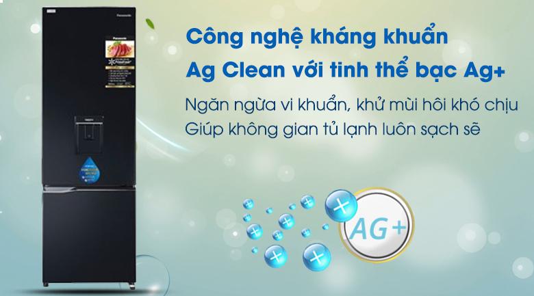 AgClean  Tủ lạnh Panasonic Inverter 322 lít NR-BC360WKVN