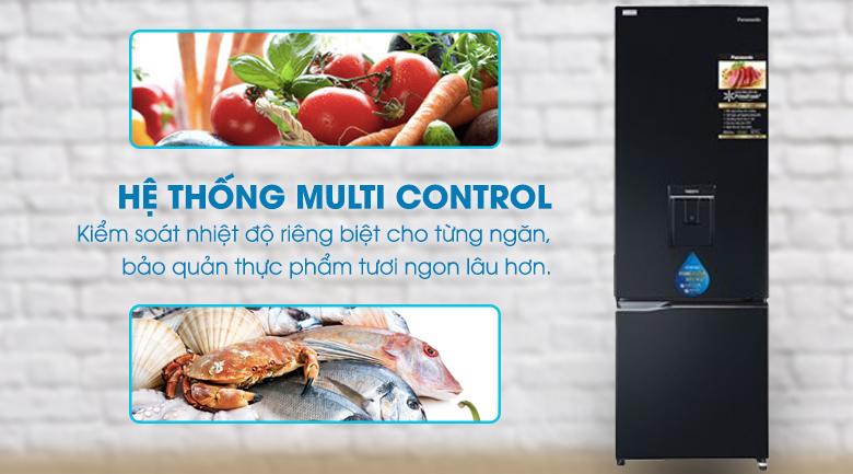 Công nghệ Multi Control Tủ lạnh Panasonic Inverter 322 lít NR-BC360WKVN